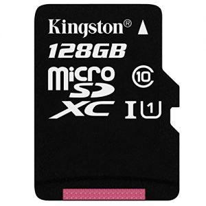 Kingston SDC10G2 - Tarjeta microSD (clase 10 UHS-I 45MB/s)
