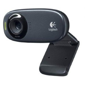 Logitech C310 - Webcam HD 720p, color negro