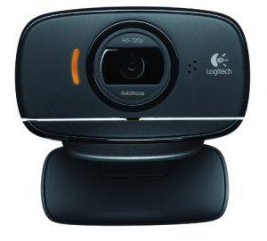 Logitech C525 - Webcam (720p, micrófono incorporado), negro