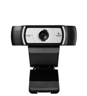Logitech C930e - Webcam, color negro/gris