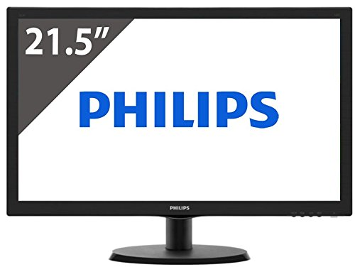 "MONITOR PHILIPS 223V5LSB2/10 21.5"" LED 1920x1080 VGA Black"