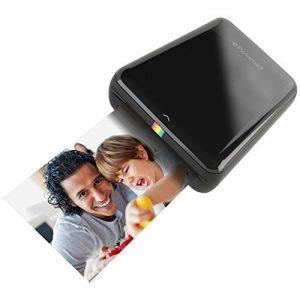 Polaroid Zip - Impresora fotográfica portátil con tecnología de impresión Zink Zero Ink (Bluetooth, NFC, Micro-USB, compatible Android/iOS), color negro