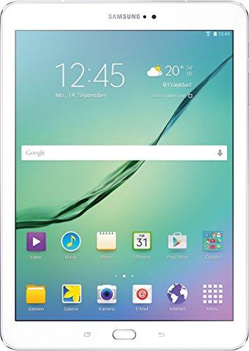 """Samsung Galaxy Tab S2 - Tablet de 9.7"""" (WiFi, 32 GB, 3 GB RAM, Android Lollipop), blanco [Importado de Alemania]"""