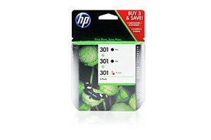 HP DeskJet 1510 -Original HP E5Y87EE / 301 - Cartouche d'encre Pack Promo Couleur -