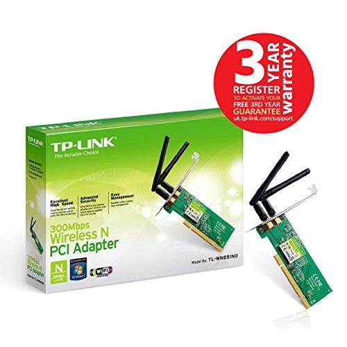 TP-LINK TL-WN881ND - Adaptador PCI