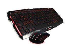 Tacens MCP0 - Pack de teclado y ratón Gaming con cable, negro