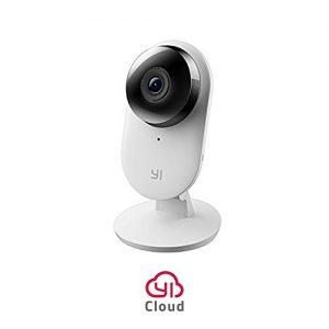 YI Cámara de vigilancia1080p 2 Cámara IP Cámara de Seguridad inalámbrica con Audio bidireccional, Visión Nocturna Servicio de Nube Disponible EU Versión Home 1080p 2